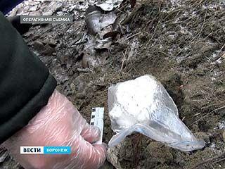 """Наркополицейские обнаружили 22 тайника со """"спайсом"""""""