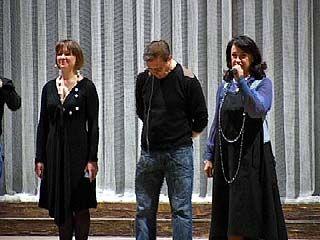 Народная артистка России Надежда Бабкина провела мастер-класс в Воронеже