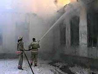 Нарушение техники безопасности при сварочных работах привели к пожару