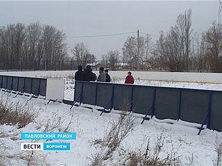 Настоящий каток в селе Большая Казинка появится не раньше следующей зимы