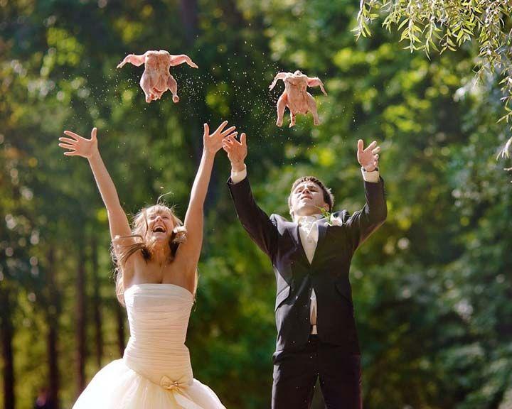Не свадьба, а цирк – как воронежцы куражатся во время бракосочетаний