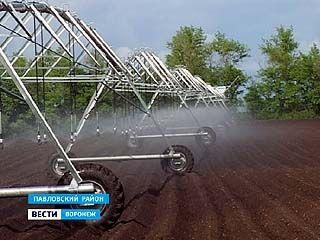 Некоторые хозяйства возвращаются к практике искусственного орошения