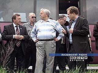Немецкая делегация посетила Лискинский район