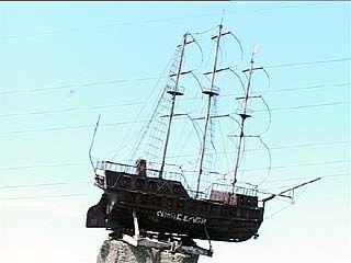 Неофициальным символом города воронежцы выбрали кораблик в водохранилище