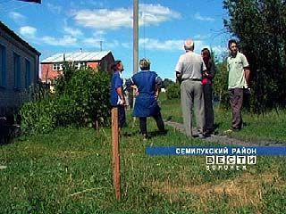 Несколько домов Орлово остаются без голубого топлива