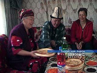 Несколько киргизских семей осели в Таловском районе
