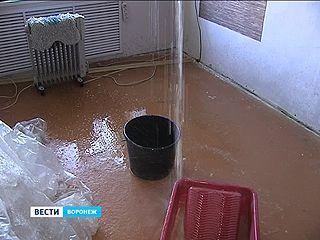 Несколько воронежских квартир пострадали после включения отопления