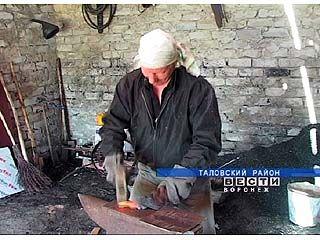 Николай Шмаков кует железо уже 7 лет