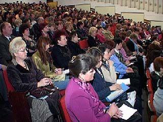 Новую систему оплаты труда учителей обсудили в Воронеже