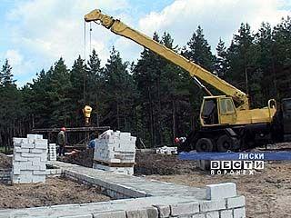 Новую ЦРБ строят в Лисках
