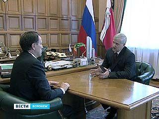 Новый федеральный инспектор по Воронежской области официально вступил в должность