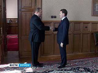 Новый главный полицейский Воронежской области вступил в должность