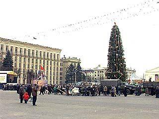 Новый год Воронеж начнет праздновать уже 25 декабря