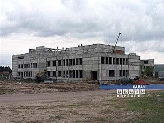 Новый корпус ЦРБ в Калаче может быть сдан через год