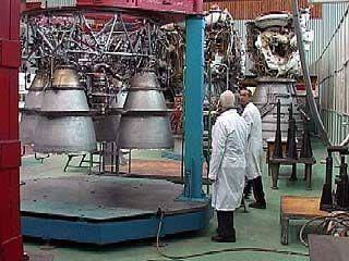Новый ракетный двигатель готовится к очередной проверке