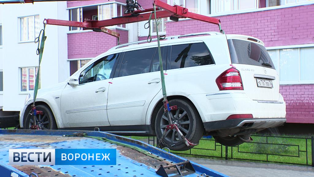 Власти утвердили базовые тарифы на эвакуацию автомобилей в пяти районах Воронежской области
