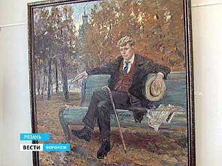 О Есенине - в красках: воронежская выставка о последнем поэте деревни приехала в Рязань