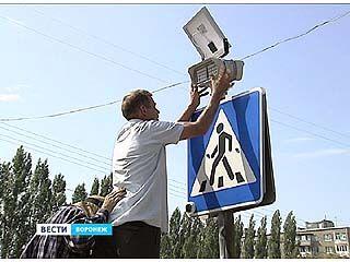 О пешеходных переходах воронежских водителей предупредят заранее