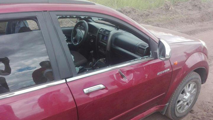 Посетители воронежского «Авиадартс» пожаловались на повреждения автомобилей от снарядов