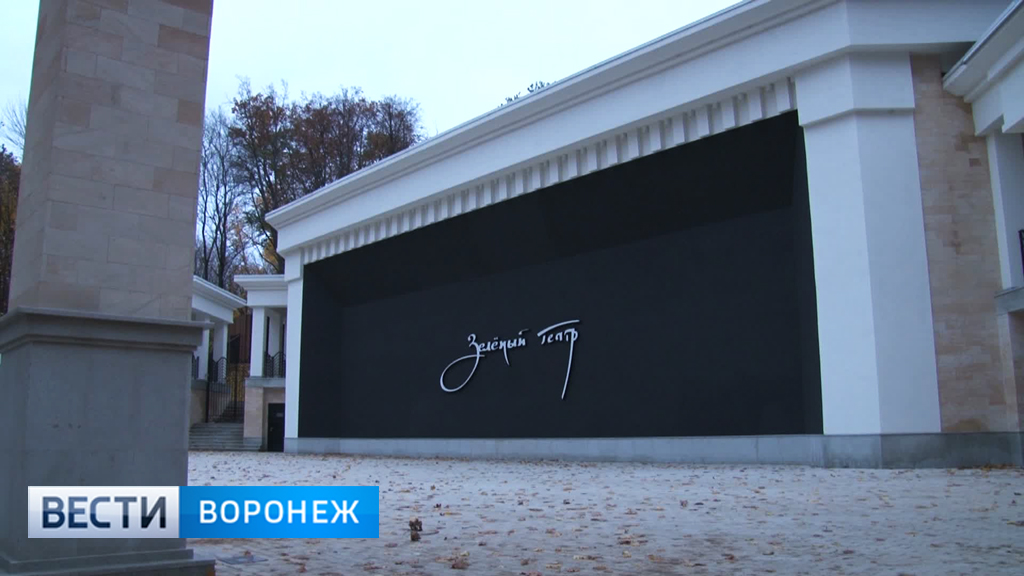 В Воронеже судебные приставы опечатали звуковое оборудование Зелёного театра