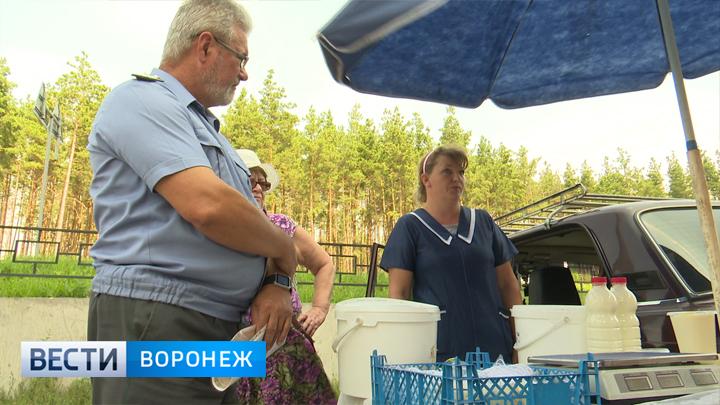 В Воронеже любители фермерского молока сильно рискуют своим здоровьем, покупая его на улице