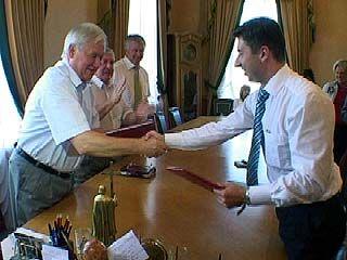 """Обладминистрация и общество """"Динамо"""" подписали соглашение"""