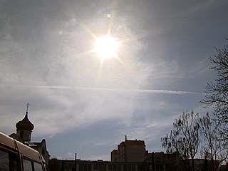 Облако из Исландии докатилось даже до Воронежской области