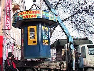 Облик Воронежа заметно изменился - исчезли игровые автоматы