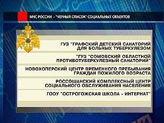 Обнародован список объектов, не отвечающих требованию пожарной безопасности