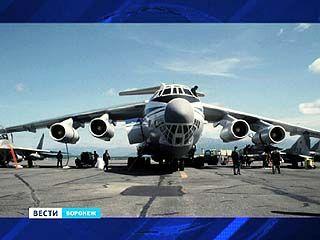 Обновлённый ИЛ-76, оснащённый воронежскими деталями, показали в Жуковском