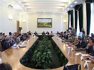 Общественная палата обсуждала методы борьбы с терроризмом