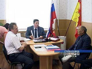 Общественная приемная губернатора открылась в Грибановке