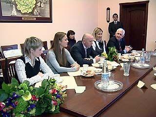 Очередная встреча губернатора была посвящена спортивным достижениям