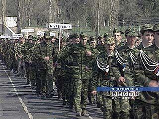 Очередной этап смотра военно-патриотических клубов пройдет в Воронеже