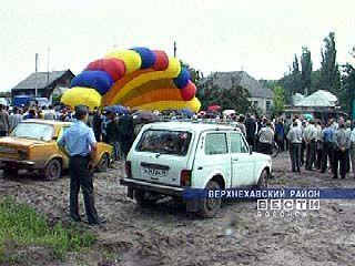 Очередной газовый факел зажегся в Верхнехавском районе