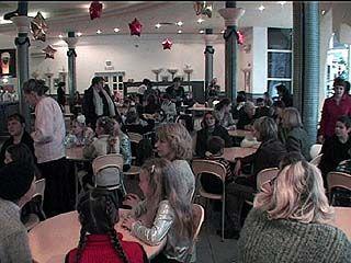 Одаренные дети встретились в семейном кафе