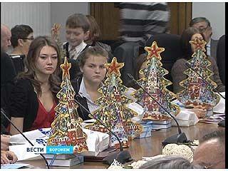 """""""Одаренных детей Воронежской области"""" чествовали в парламентском центре"""