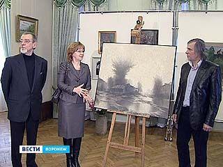 """Один из воронежских меценатов подарил музею имени Крамского """"Циклон"""""""