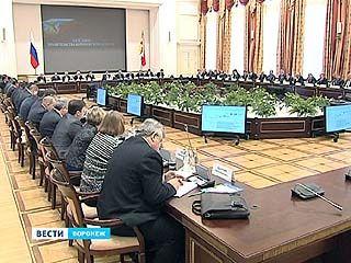 Одной из главных тем на заседании правительства стала инвестиционная политика Воронежской области