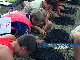 Около села Лосево Павловского района прошли археологические слёты
