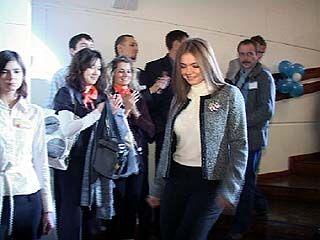 Олимпийская чемпионка Алина Кабаева приехала в Воронеж