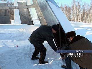 От рук вандалов пострадал памятник