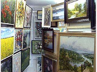 Открылась новая картинная галерея
