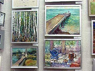 Открылась персональная выставка картин Баловина