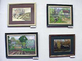 Открылась персональная выставка работ Николая Третьякова