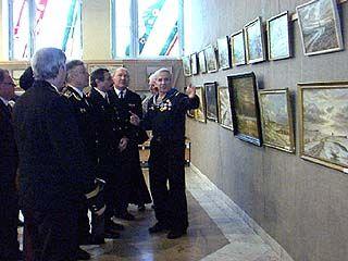 """Открылась выставка, посвященная подвигу моряков крейсера """"Варяг"""""""