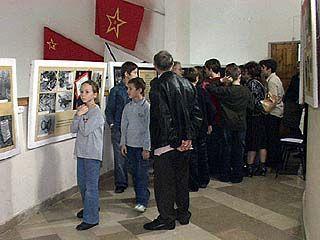 Открылась выставка, приуроченная к 62-ой годовщине Великой Победы