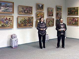 Открылась выставка работ Евгении Пряхиной