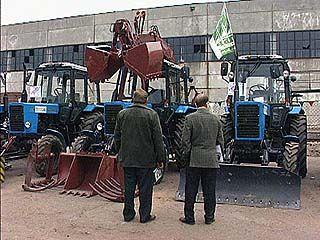 "Открылась выставка ""Урожай 2006"""