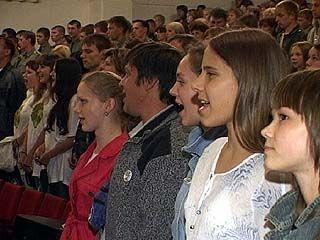 Открылся конкурс патриотической песни